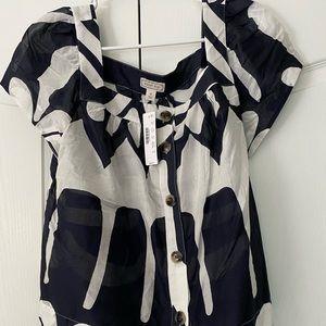 Point Sur J Crew blouse